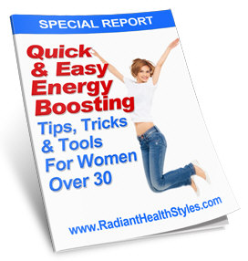 Quick & Easy Energy Boosting Tips